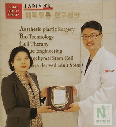 Trung tâm thẩm mỹ Nguyễn Du được chuyển giao công nghệ làm đẹp từ tập đoàn mỹ Hàn Quốc LAPIAN.
